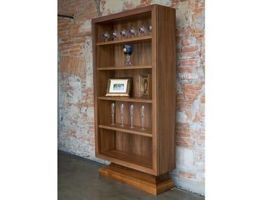 Classic Style Walnut Bookcase