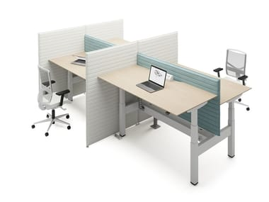Multiple office workstation LIFT DUO