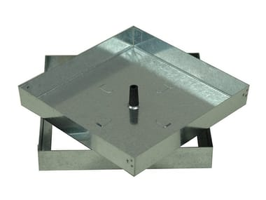 Manhole cover for plumbing and drainage systems LIGHT DUTY RECESSED ACCESS COVER