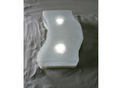 Segnapasso a LED a pavimento LIGHT STONE NORMA H&S