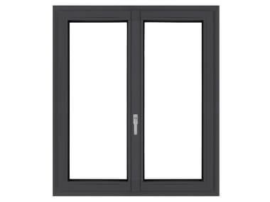 PVC double glazed window LIGHTEK