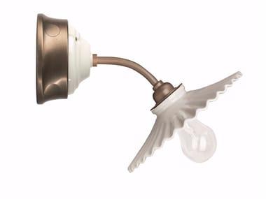 Porcelain wall light FUSION - VENTAGLIO | Wall light