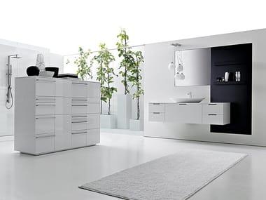 Mobile bagno con cassetti LIGNUM | Mobile bagno