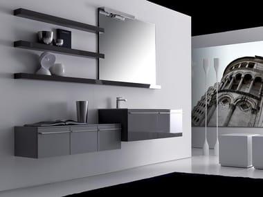 Mobile lavabo / lavabo LIGNUM / H | Mobile lavabo