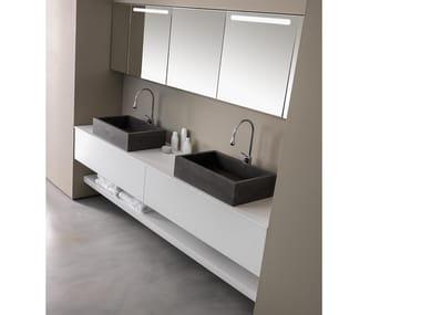 Mobile lavabo / lavabo LIGNUM / M