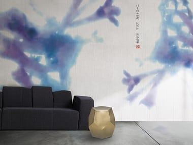 Vinyl or fyber glass wallpaper LILA