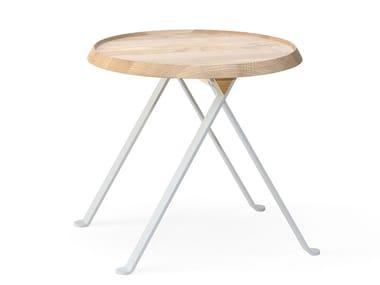Coffee table in frassino e metallo LILLIPUT 314