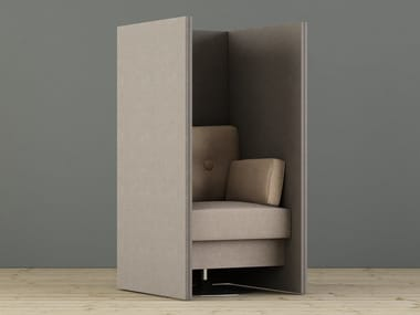 High-back fabric armchair LIMBUSSIT | Armchair