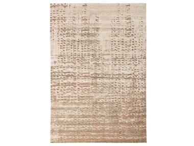 Patterned handmade rectangular rug LIMELIGHT