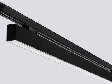 Illuminazione a binario a LED in alluminio estruso LINE TRACK