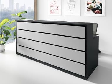 Office reception desk LINEA 1 | Office reception desk