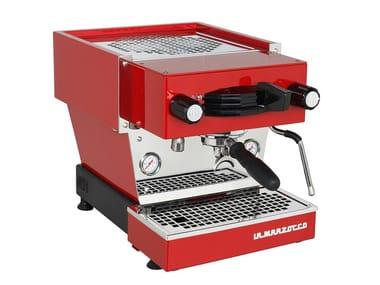Macchina da caffè in acciaio inox LINEA MINI RED