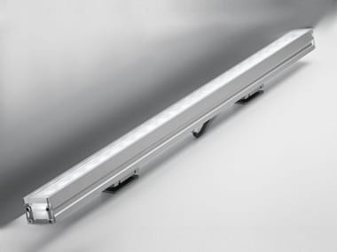 Floor outdoor extruded aluminium LED light bar LINEALED WALLWASHER | LED light bar