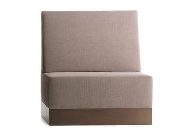 Upholstered Modular High Back Bench Linear 02481
