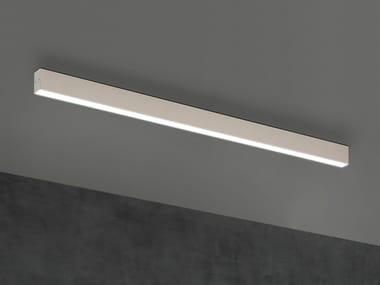 Perfil para iluminación lineal de aluminio para fijación al techo para LED TI-ZAS | Perfil para iluminación lineal