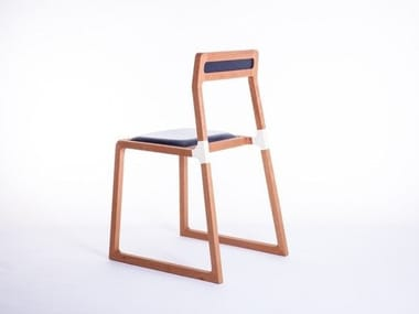 Solid wood chair LINES