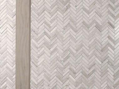 Natural stone mosaic LINES