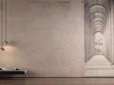 Washable trompe l'oeil vinyl wallpaper LINOSA