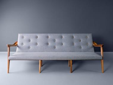 Tufted 3 seater fabric sofa LIPA | Sofa