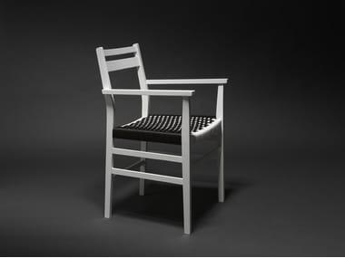 Ash chair with armrests LISBOA 02