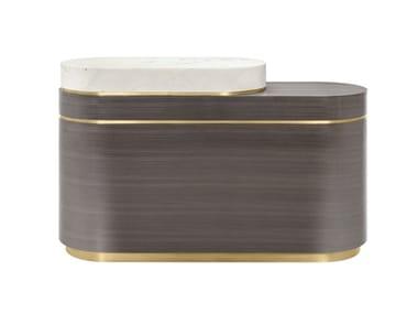 Wooden bar counter LISBON