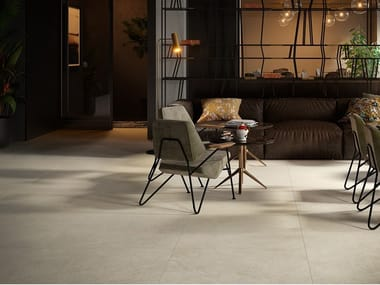 Porcelain stoneware wall/floor tiles with stone effect LITHOS MOON