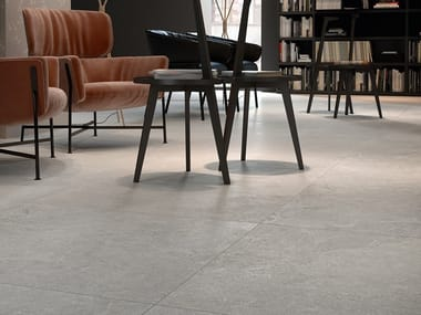 Porcelain stoneware wall/floor tiles with stone effect LITHOS STONE