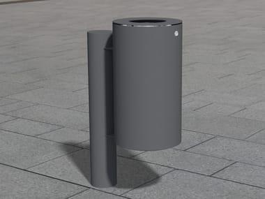 Portarifiuti in acciaio inox per esterni LITTER BIN 230 | Portarifiuti