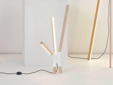 LED wooden table lamp LITTLE BANG