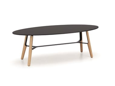 Oval HPL coffee table LIÙ CT | Oval coffee table