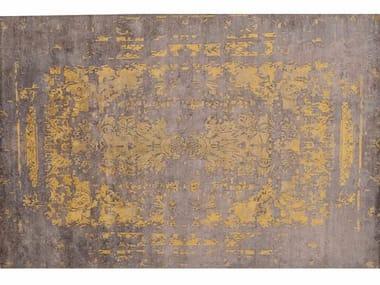 Rectangular Bamboo silk rug LOFT L176A