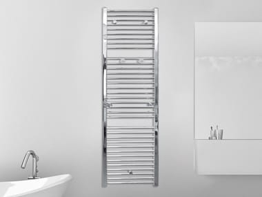 Vertical wall-mounted towel warmer LOGIC CROMO 19