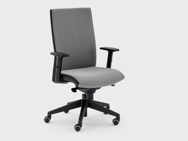 Swivel fabric office chair with castors LOGIKA   Office chair