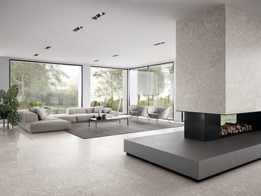 Porcelain stoneware wall/floor tiles LOMBARDA BIANCO