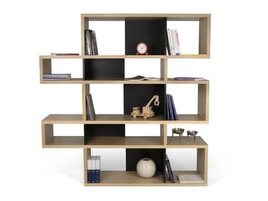 Double-sided shelving unit LONDON | Shelving unit