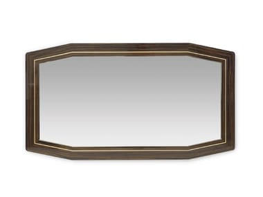 Framed wall-mounted mirror LONG BEACH LUX | Mirror