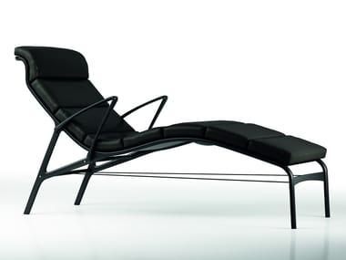 Chaise longue rembourrée en tissu LONGFRAME SOFT - 415