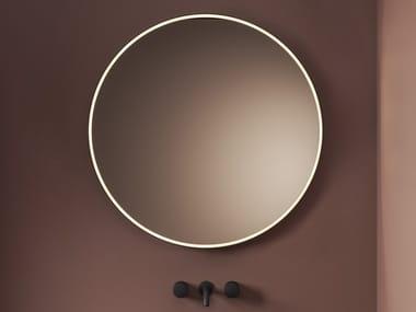 Specchio rotondo con cornice per bagno LOOK RING