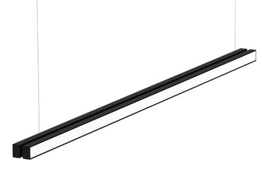 LED aluminium pendant lamp with dimmer LOOP LINEAR