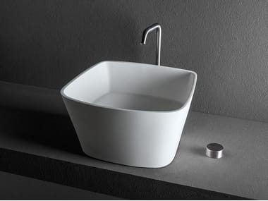 Countertop washbasin LOOP L