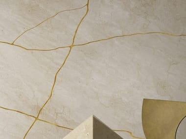 Revêtement mural en marbre pour intérieur LOST STONES CREMA D'ORCIA