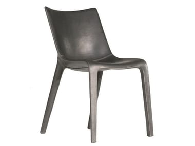 Leather chair LOU EAT | Chair