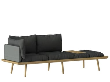 Canapé 3 places en tissu LOUNGE AROUND | Canapé 3 places