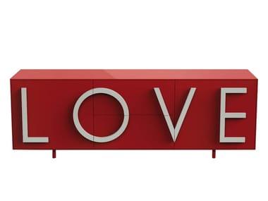 MDF sideboard LOVE LARGE
