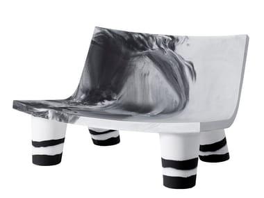 Polyethylene small sofa LOW LITA LOVE ANNIVERSARY   Small sofa