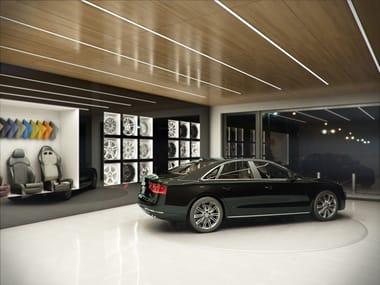 Linear lighting profile for LED modules LUMINES G   Furniture lighting