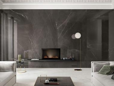 Revestimiento de pared/suelo de gres porcelánico efecto mármol LUX EXPERIENCE PIETRA GREY