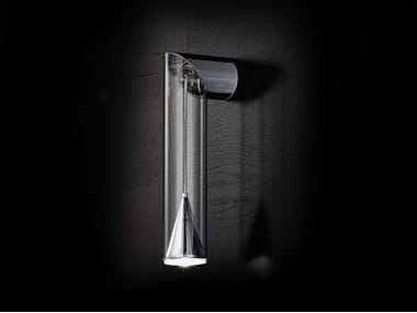 Lampada da parete a LED in vetro borosilicato LUX   Lampada da parete