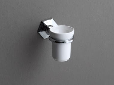 Wall-mounted ceramic toothbrush holder LUX | Wall-mounted toothbrush holder