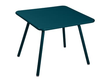 Square aluminium Kids table LUXEMBOURG KID | Kids table